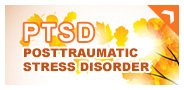 abstract image with words-PTSD Posttraumatic Stress Disorder