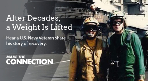 After Decades a Weight is Lifted | Hear a US Navy veteran share his story of recovery.
